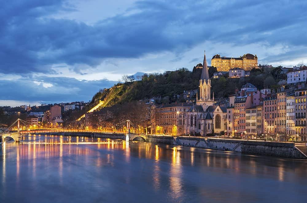 River cruise at Saone River, Lyon