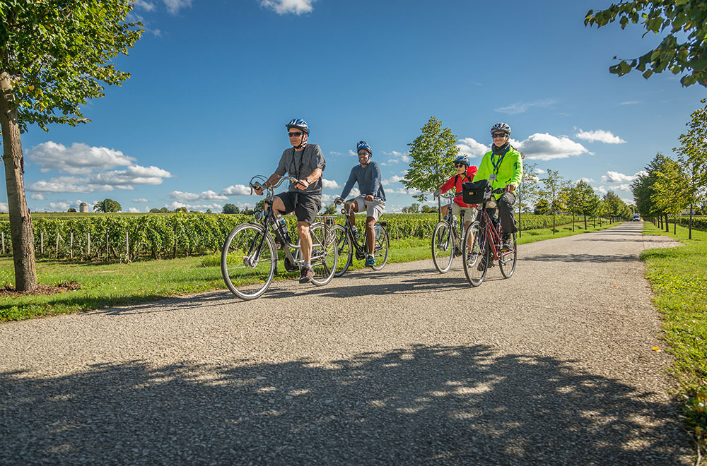 A bike tour ideal for solo cruisers