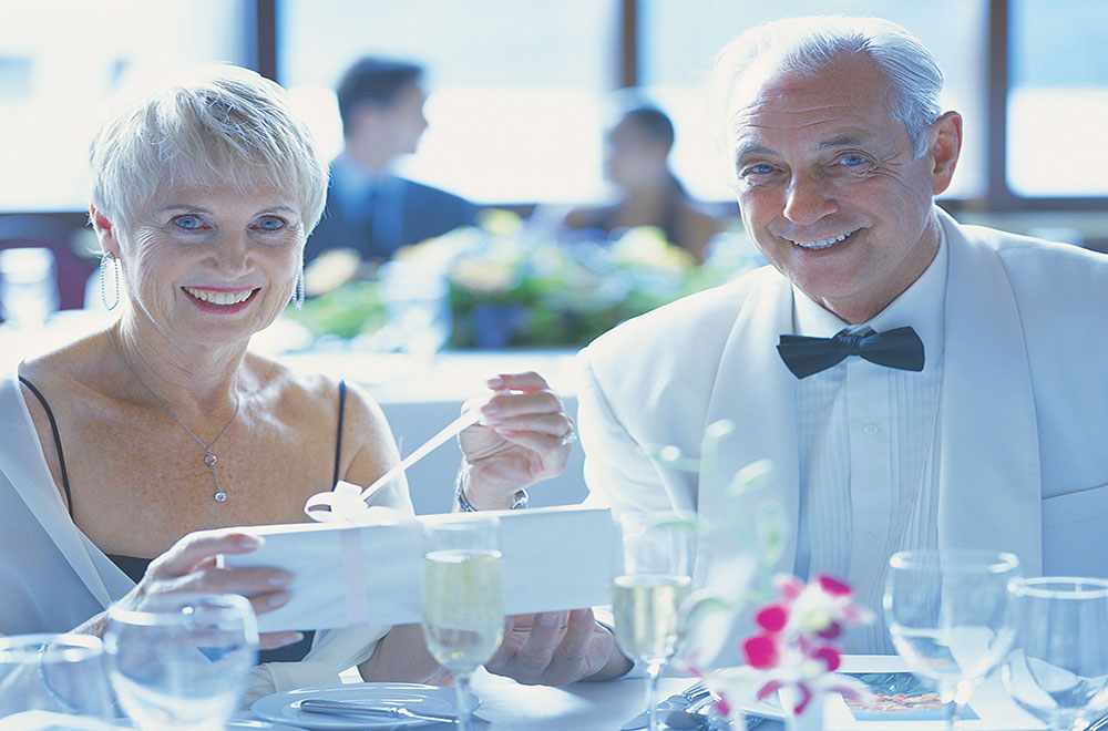 Cruise Dining experience with a gentleman host