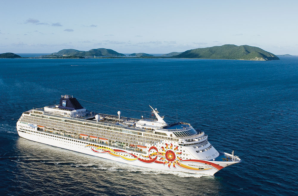 Smallest cruise ship of Norwegian Cruise Line