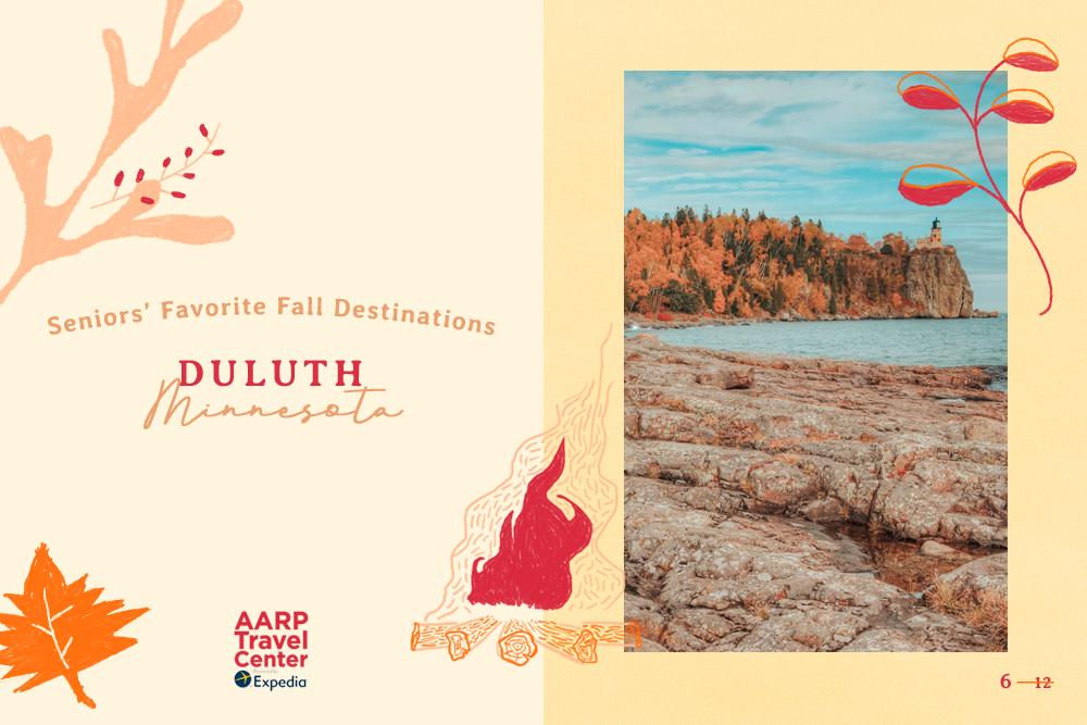 duluth mn autumn trees