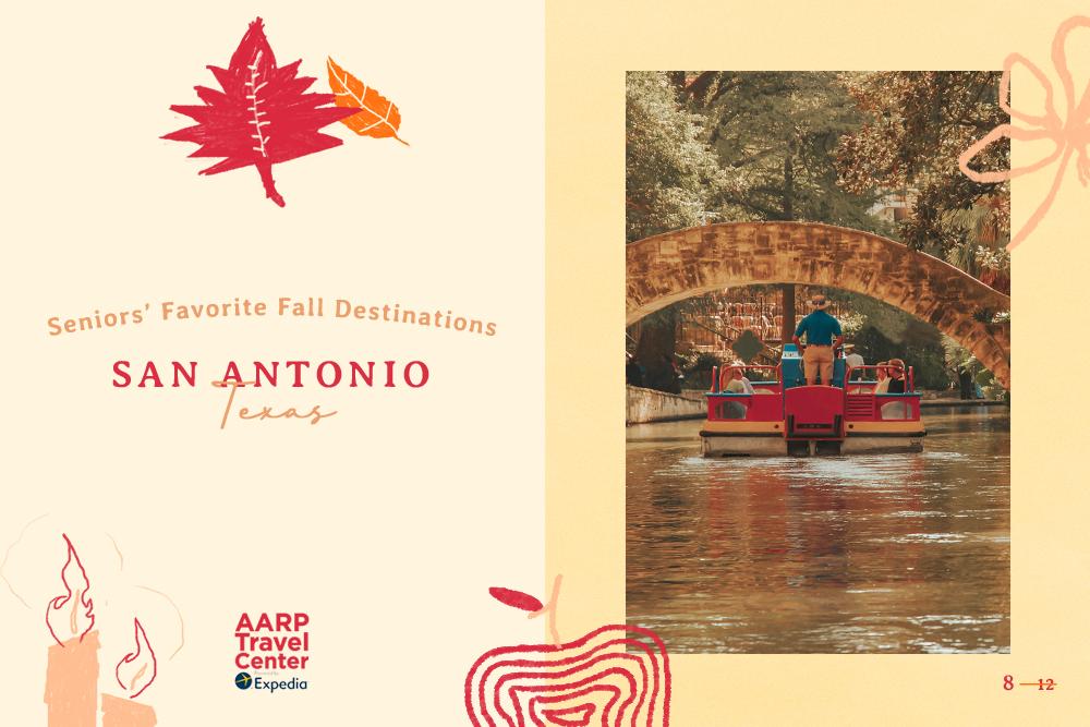 san antonio, tx autumn foliage