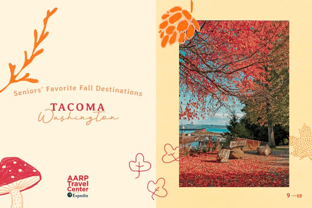 autumn in tacoma, wa