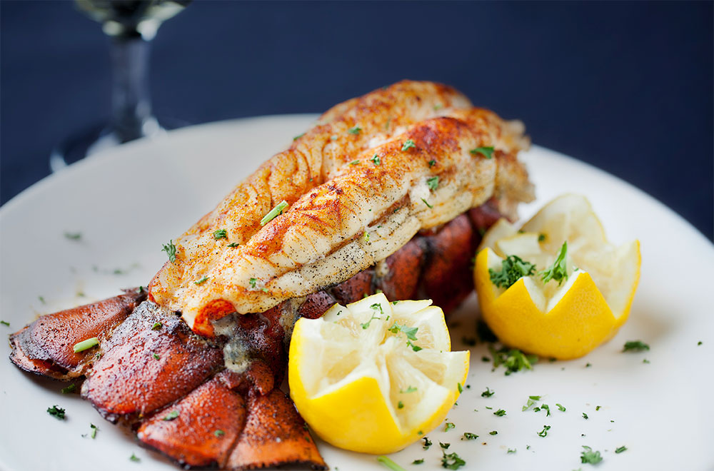 Lobster night onboard Norwegian Cruise Line