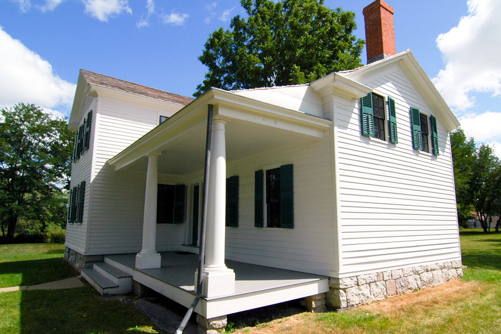 elizabeth cady stanton house exterior